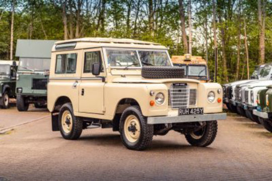 1983 Land Rover Series 3 Station Wagon For Sale (picture 1 of 6)