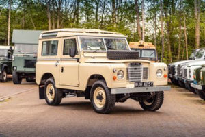 1983 Land Rover Series 3 Station Wagon