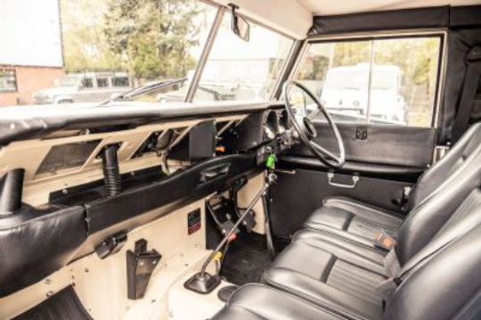 1983 Land Rover Series 3 Station Wagon For Sale (picture 2 of 6)