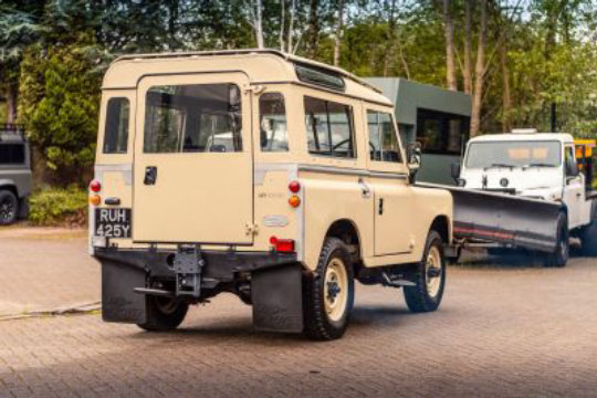 1983 Land Rover Series 3 Station Wagon For Sale (picture 6 of 6)