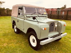 1967 Land Rover SWB Petrol 2.3 Complete Restored For Sale