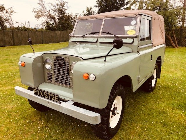 1967 Land Rover SWB Petrol 2.3 Complete Restored For Sale (picture 2 of 6)
