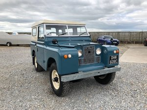 1965 Land Rover® Series 2a *Station Wagon Configuration* (DHN) SOLD