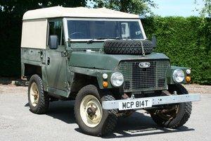 1972 Land Rover Lightweight 2.25 Petrol Hard Top SOLD