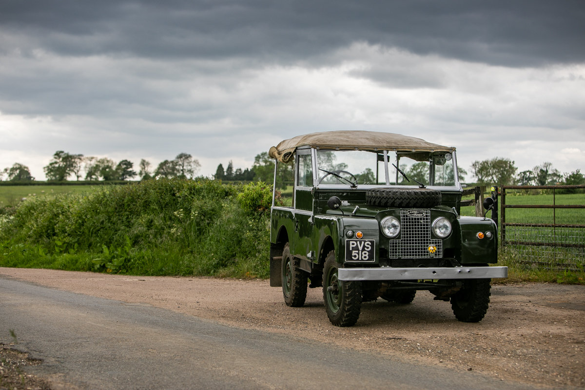 1956 Land Rover Series I 86 SOLD by Auction (picture 2 of 6)