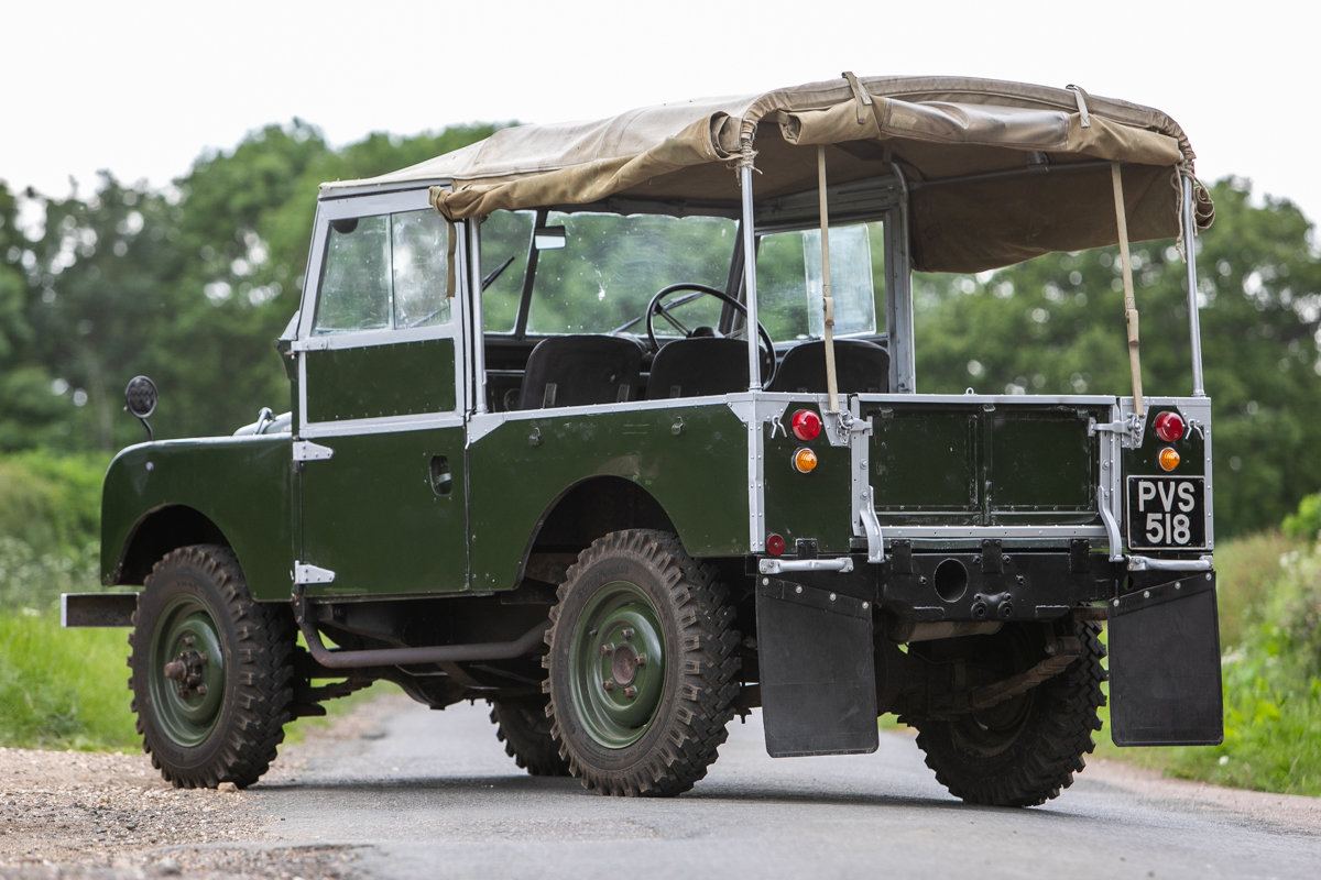 1956 Land Rover Series I 86 SOLD by Auction (picture 3 of 6)