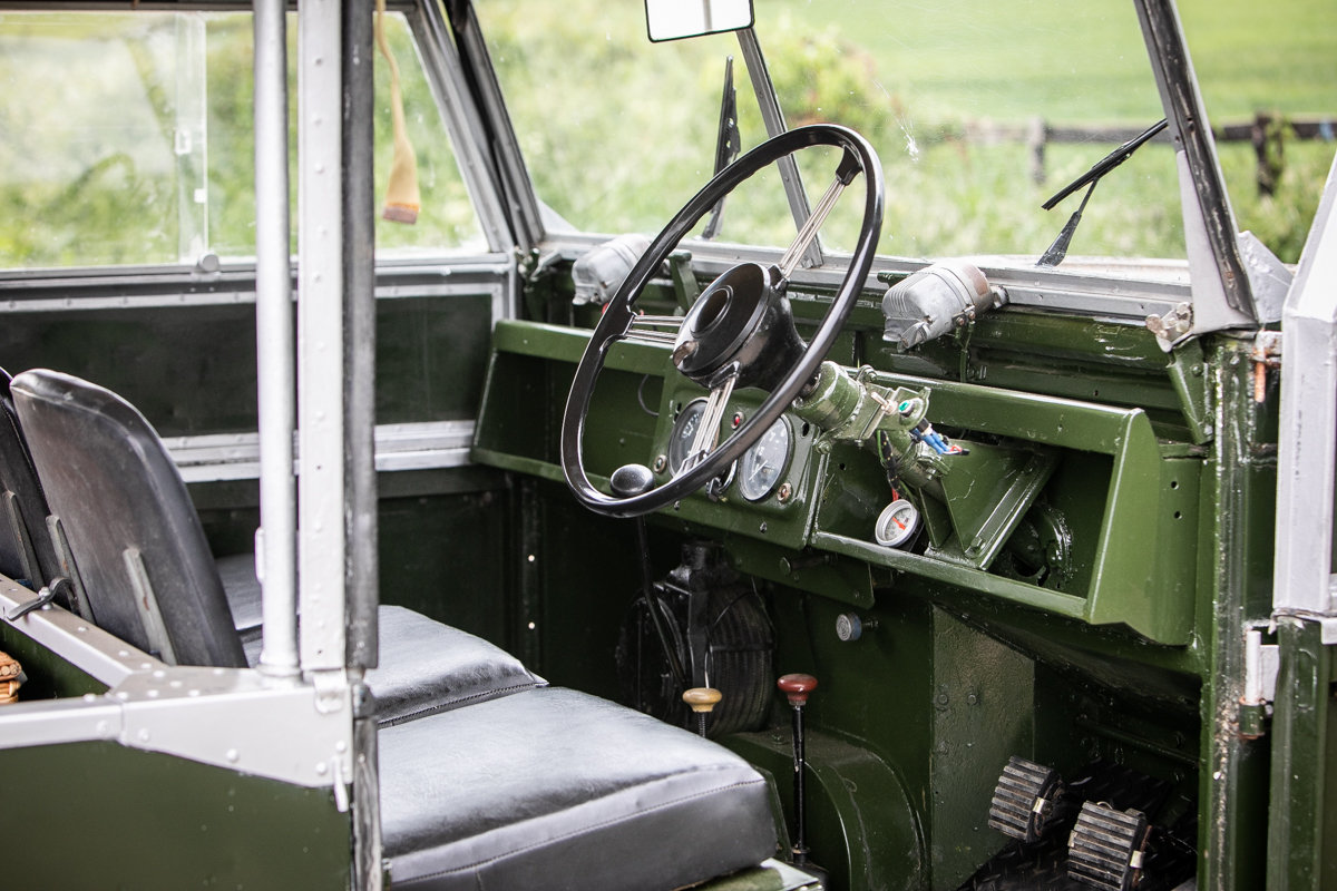 1956 Land Rover Series I 86 SOLD by Auction (picture 4 of 6)