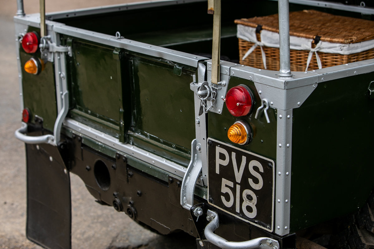1956 Land Rover Series I 86 SOLD by Auction (picture 6 of 6)
