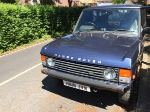 1990 CLASSIC Range Rover with new 4.6 block  For Sale
