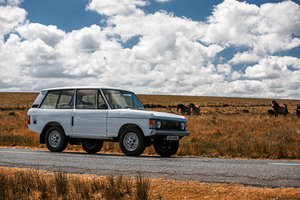 1972 Range Rover (Suffix A) SOLD by Auction