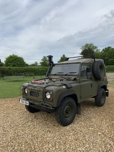 1999 Land Rover Defender Wolf For Sale by Auction