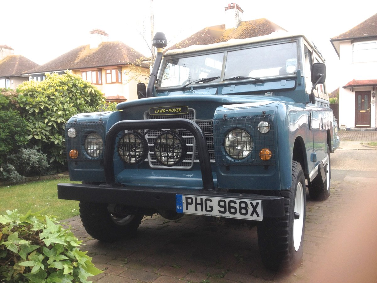 "1982 Land Rover Series 3  88"" SWB. 2,25 Ltr petrol. For Sale (picture 1 of 6)"