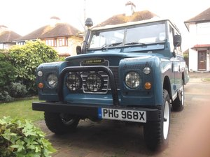 "1982 Land Rover Series 3  88"" SWB. 2,25 Ltr petrol. For Sale"
