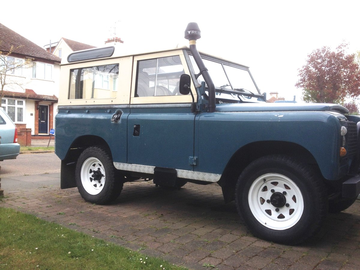 "1982 Land Rover Series 3  88"" SWB. 2,25 Ltr petrol. For Sale (picture 2 of 6)"