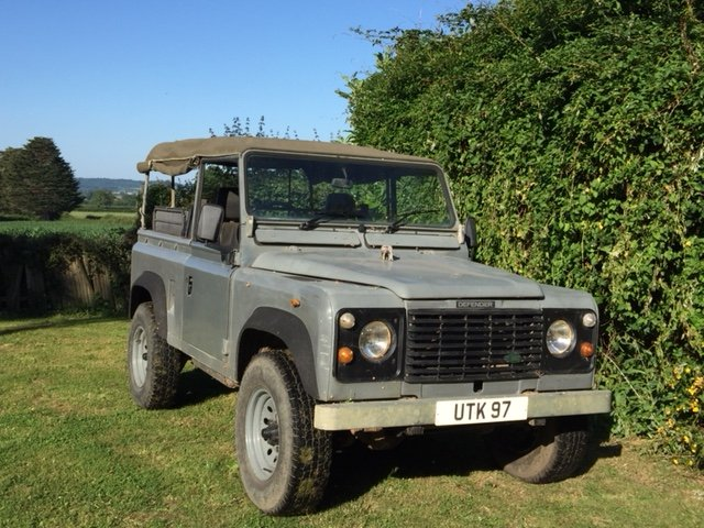1991 LAND ROVER 90  200 tdi   soft top 12 months MOT  SOLD (picture 1 of 6)