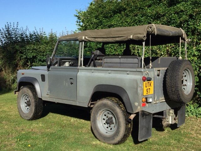 1991 LAND ROVER 90  200 tdi   soft top 12 months MOT  SOLD (picture 3 of 6)