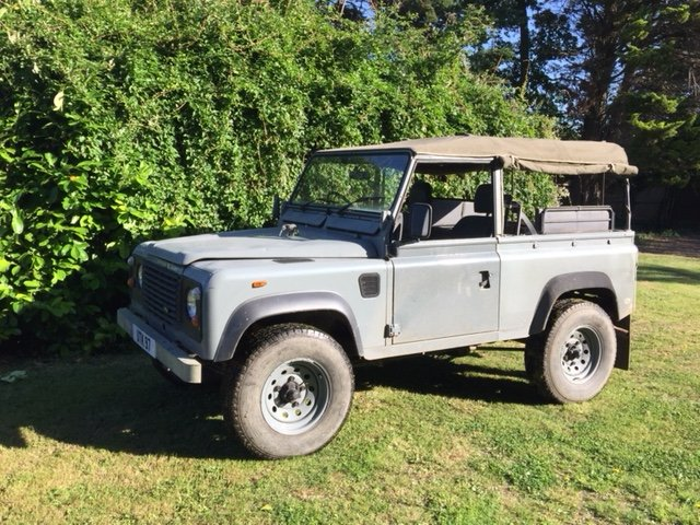 1991 LAND ROVER 90  200 tdi   soft top 12 months MOT  SOLD (picture 4 of 6)