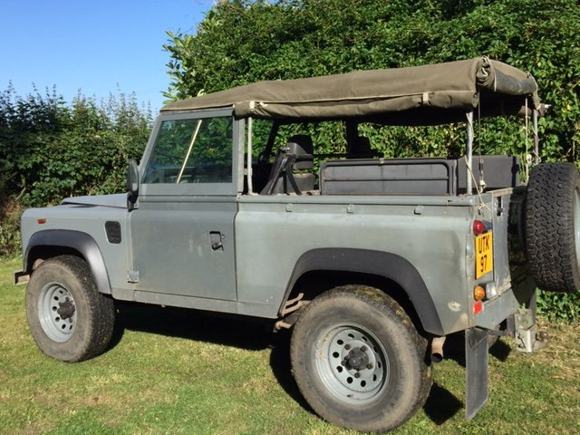 1991 LAND ROVER 90  200 tdi   soft top 12 months MOT  SOLD (picture 5 of 6)