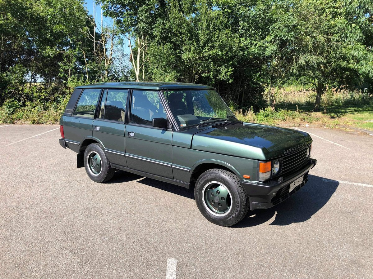 1992 Range Rover Classic Vogue 3.9 EFI Auto For Sale (picture 1 of 6)