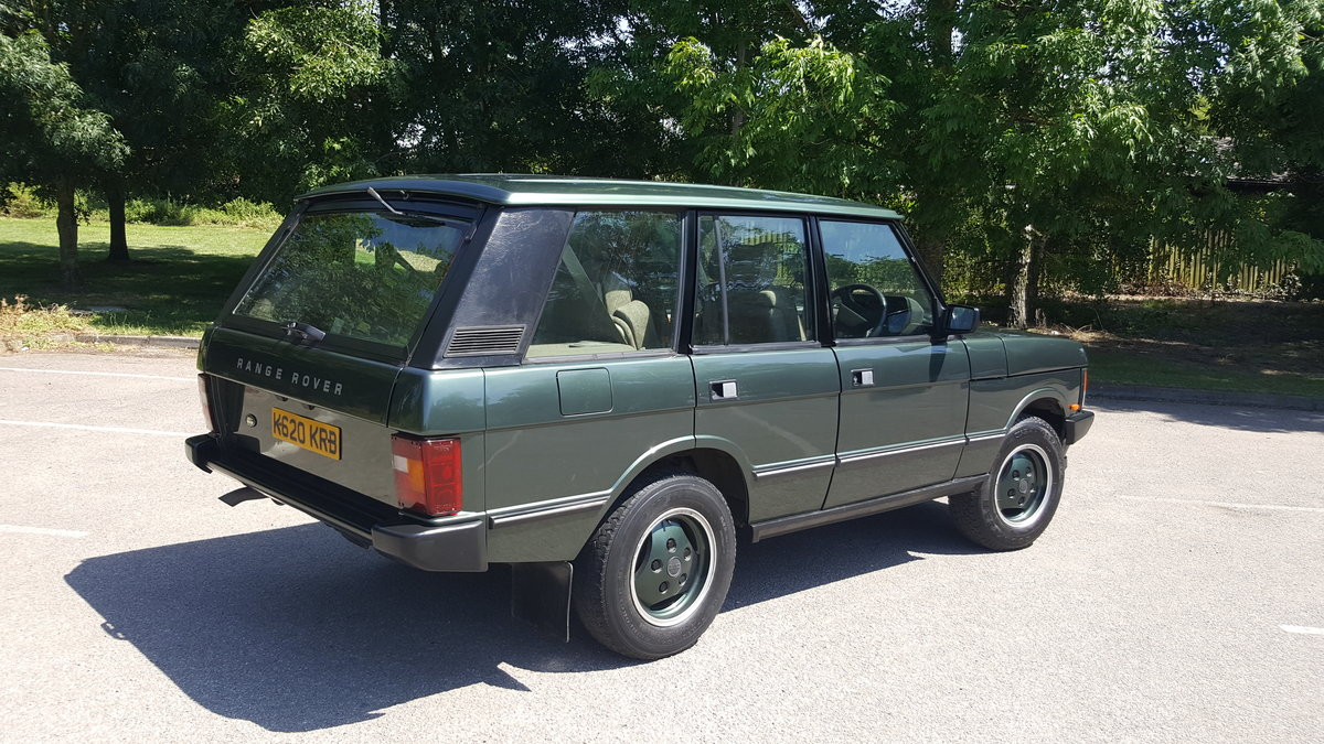 1992 Range Rover Classic Vogue 3.9 EFI Auto For Sale (picture 2 of 6)