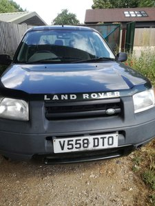2000 Freelander XI - Barons Tuesday 16th July 2019 SOLD by Auction