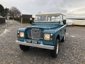 1972 Land Rover ® Series 3 *Number 89* (FRF) For Sale