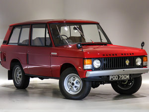 1974 Range Rover 3.5 V8 Suffix C-Low Mileage-Outstanding  For Sale