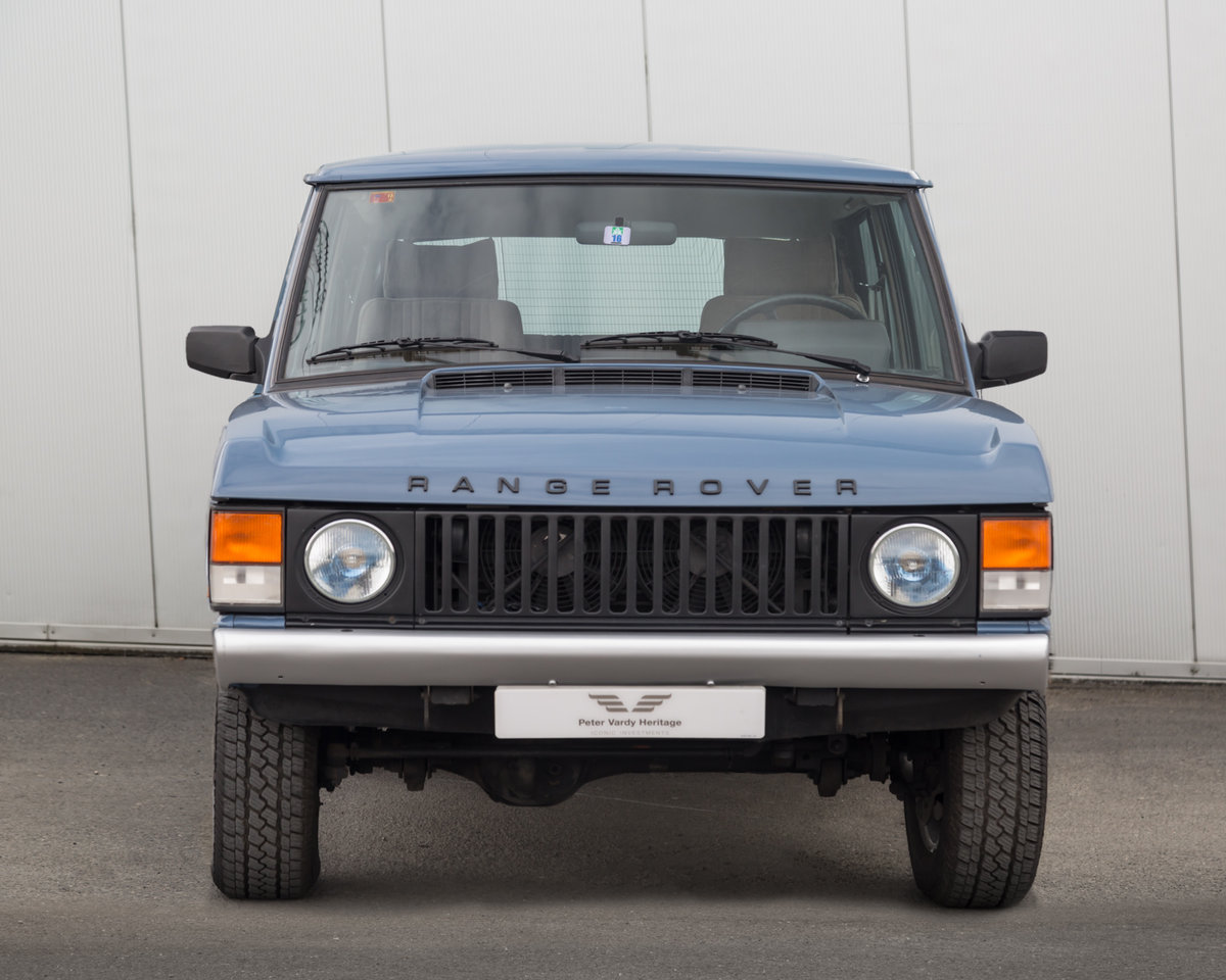1989 Range Rover Classic 2 Door 2.4 TD Manual (Suffix-A styling) For Sale (picture 2 of 6)