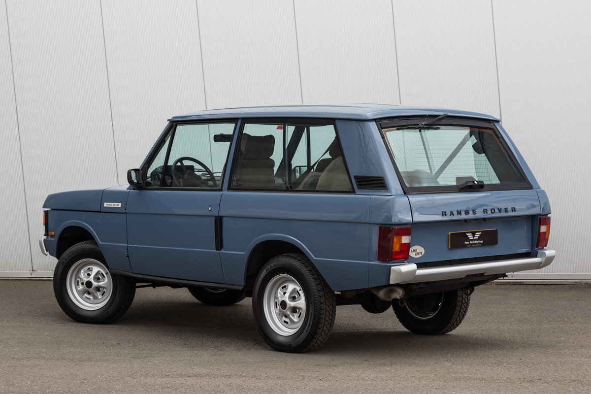 1989 Range Rover Classic 2 Door 2.4 TD Manual (Suffix-A styling) For Sale (picture 3 of 6)