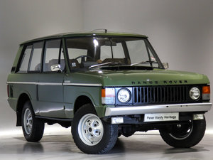 1971 Land Rover Range Rover 3.5 V8 For Sale