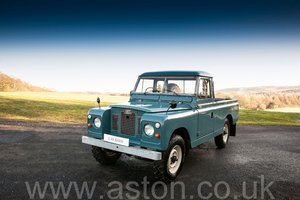 1969 Land Rover Series 2A - Ex Raf SOLD