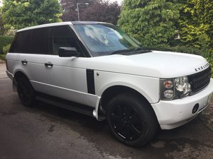 2005 Rangerover L322 Autobiography white with blac