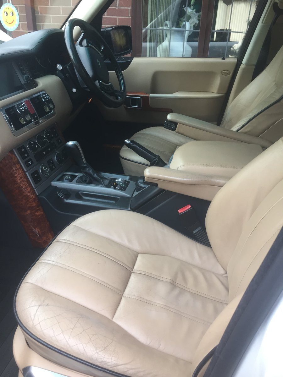 2005 Rangerover L322 Autobiography white with blac For Sale (picture 6 of 6)