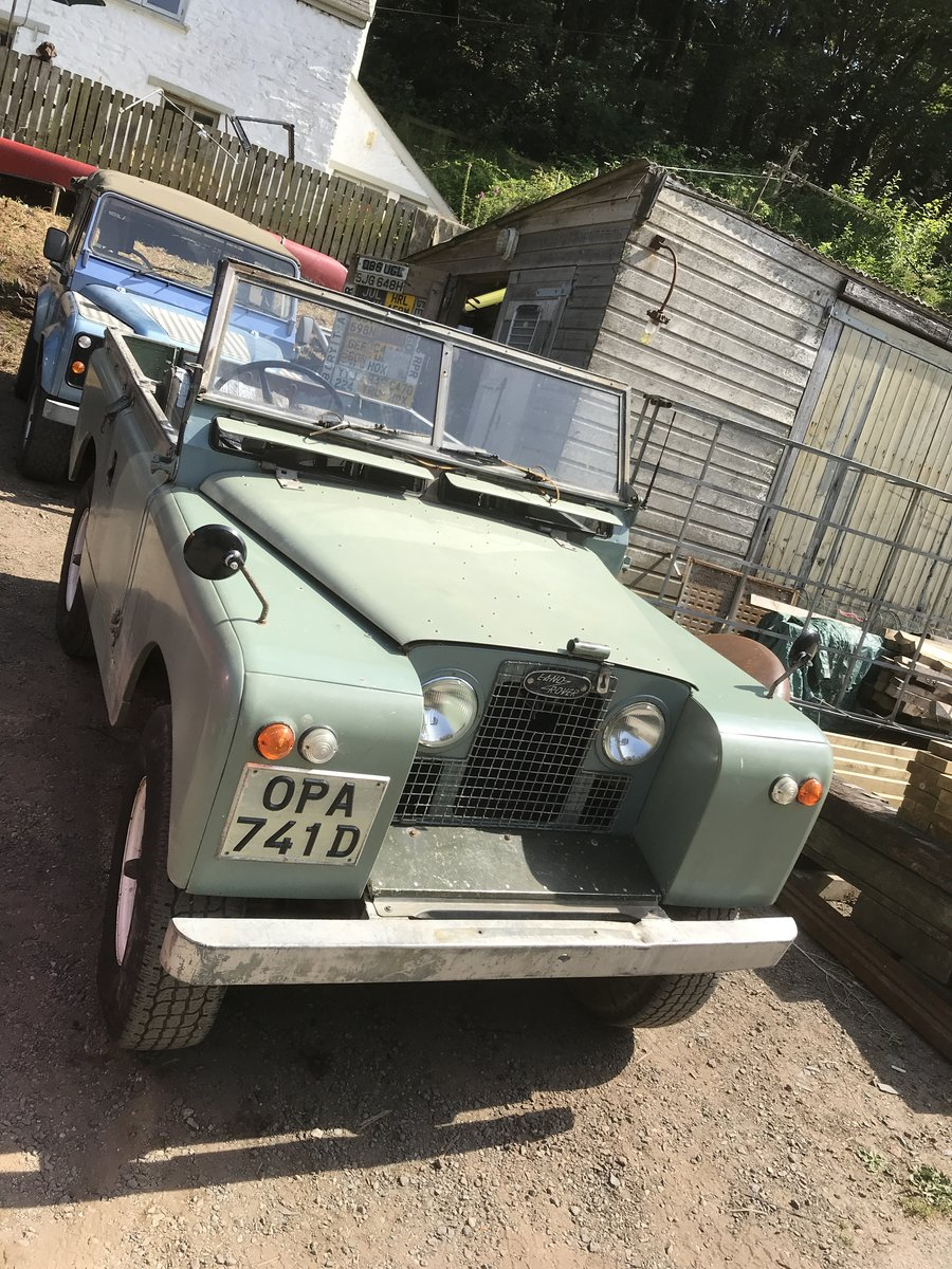 1966 Land Rover Series 2a SWB. Very original!! SOLD (picture 2 of 6)