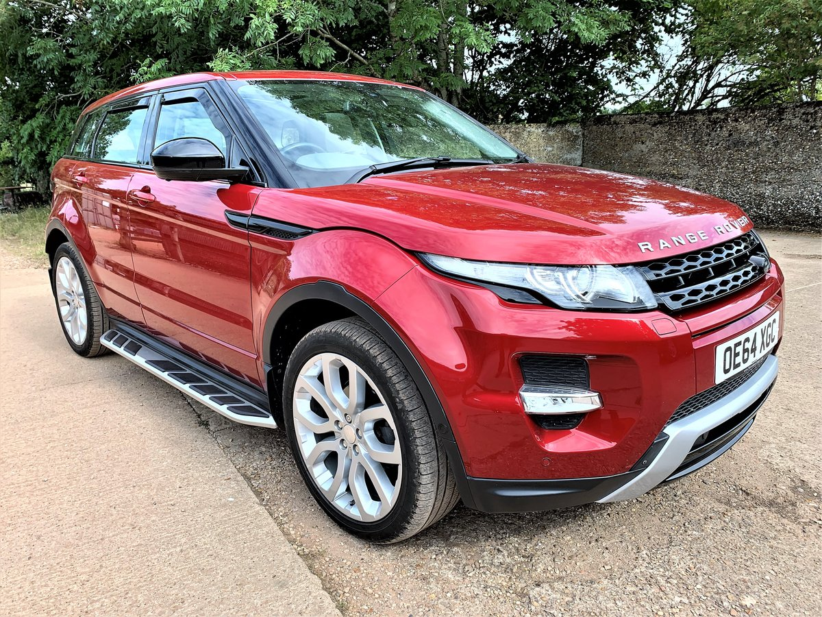 high spec 2015 range rover evoque dynamic plus 2.2SD4 auto SOLD (picture 1 of 6)