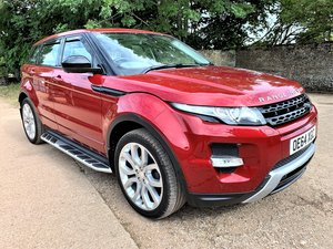 high spec 2015 range rover evoque dynamic plus 2.2SD4 auto SOLD