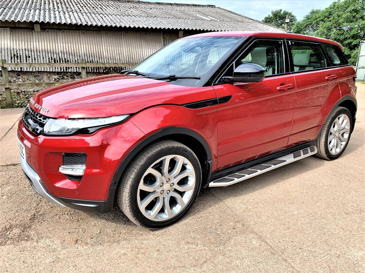 high spec 2015 range rover evoque dynamic plus 2.2SD4 auto SOLD (picture 2 of 6)
