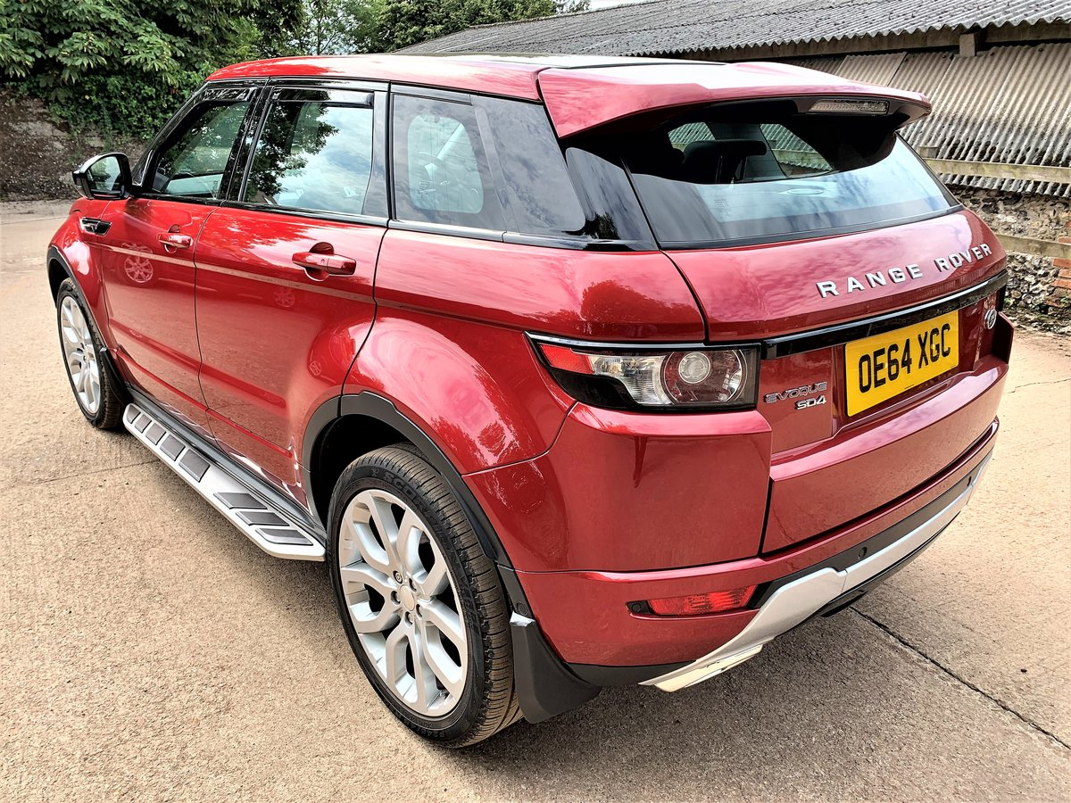high spec 2015 range rover evoque dynamic plus 2.2SD4 auto SOLD (picture 4 of 6)