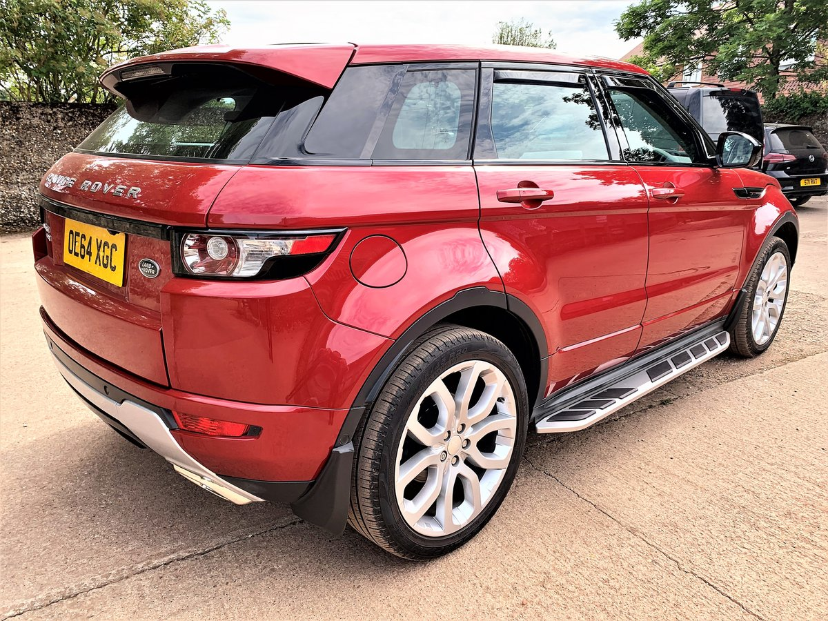high spec 2015 range rover evoque dynamic plus 2.2SD4 auto SOLD (picture 5 of 6)