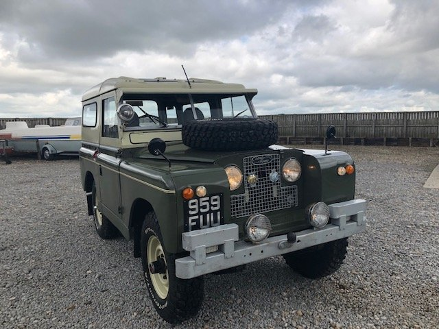 1963 Land Rover® Series 2a *Tax and MOT Exempt* (FUU) RESERVED SOLD (picture 1 of 6)