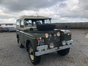 1963 Land Rover® Series 2a *Tax and MOT Exempt* (FUU) RESERVED SOLD