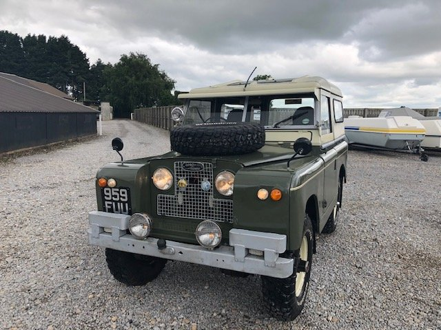 1963 Land Rover® Series 2a *Tax and MOT Exempt* (FUU) RESERVED SOLD (picture 2 of 6)