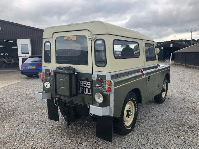 1963 Land Rover® Series 2a *Tax and MOT Exempt* (FUU) RESERVED SOLD (picture 3 of 6)