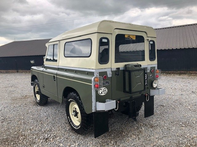 1963 Land Rover® Series 2a *Tax and MOT Exempt* (FUU) RESERVED SOLD (picture 4 of 6)