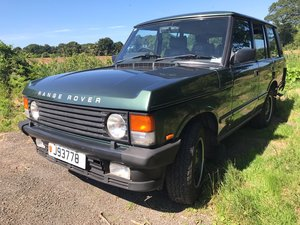 1990 Range Rover Vogue SE One Owner,full service history from new