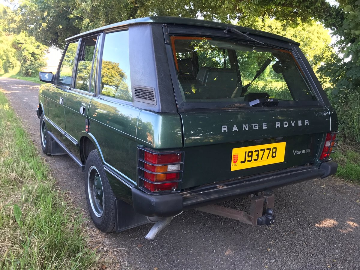 1990 Range Rover Vogue SE One Owner,full service history from new For Sale (picture 4 of 6)