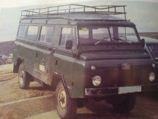 1972 LHD - Land Rover 1300 Bus 4x4 - engine 2.3L diesel For Sale