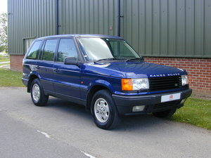 1996 RANGE ROVER P38 4.0 - RHD -VERY HIGH SPEC! JUST 33k!