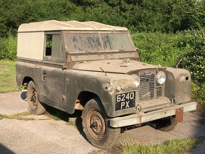 1960 Land Rover Series 2 SWB Hardtop 1 previous owner   For Sale