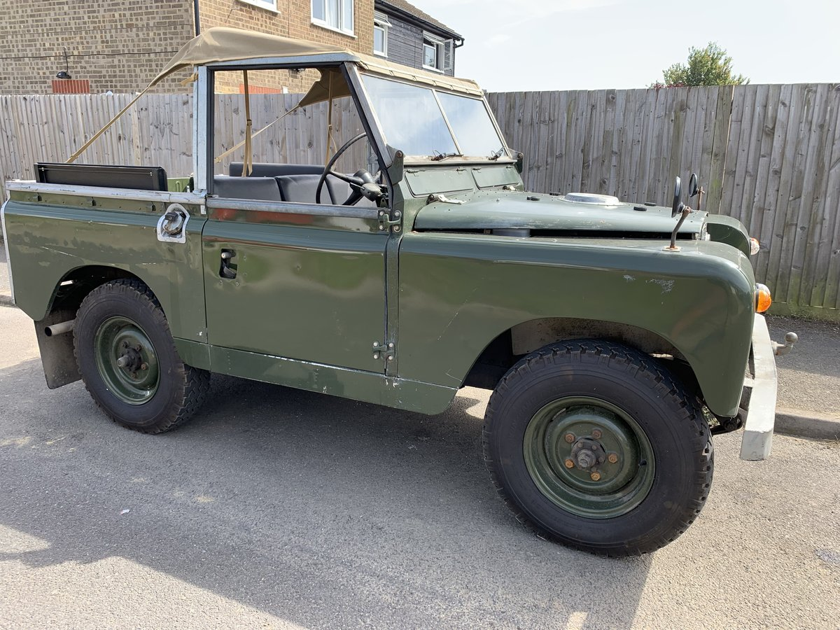 """LAND ROVER SERIES 2a 200 TDI CONVERSION 1965 88"""" SOLD (picture 1 of 3)"""